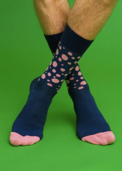 Random Dot 02 - Polka Dot Happy Socks (rd10 - 002)